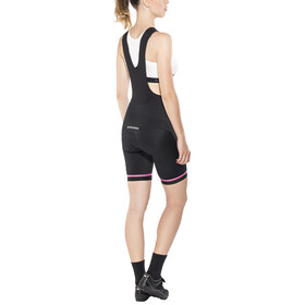 Etxeondo Koma 2 Bib Shorts Women Black/Pink